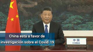 China, a favor de una investigación sobre coronavirus: Xi Jinping