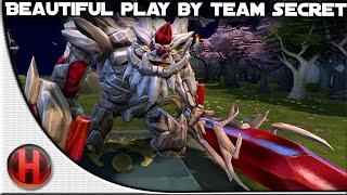 Dota 2 - Beautiful Play by Team Secret @ The Summit 2