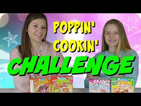 connectYoutube - CANDY COOKING CHALLENGE    POPPIN COOKIN FOOD CHALLENGE    Taylor and Vanessa