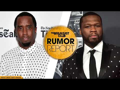 50 Cent Claps At Diddy After Breakfast Club Interview