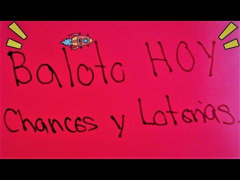 BALOTO HOY 22/09/2021  Resultados Chances y Loterías Pronósticos Números Ganadores Último Sorteo