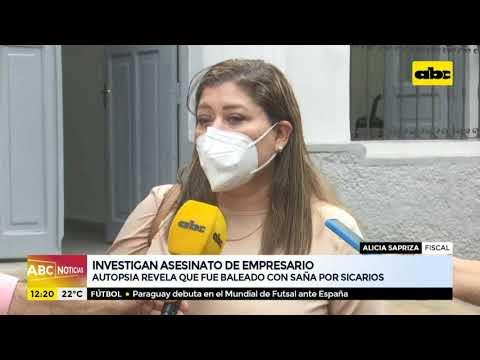 Autopsia revela que empresario fue baleado con saña por sicarios