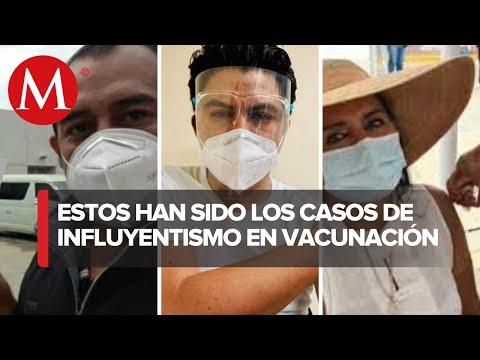 Siguen los casos de influyentismo para vacunarse contra el covid-19 en México