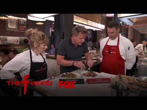 The Competitors Show Off Their Dishes To Chef Ramsay   Season 1 Ep. 10   THE F WORD