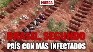 Brasil, segundo país del mundo con más infectados por el Covid-19 I MARCA