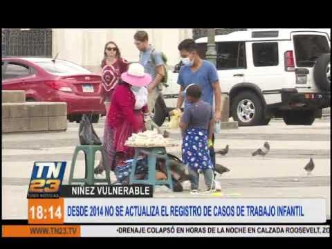 No hay registro actualizado sobre casos de trabajo infantil en Guatemala