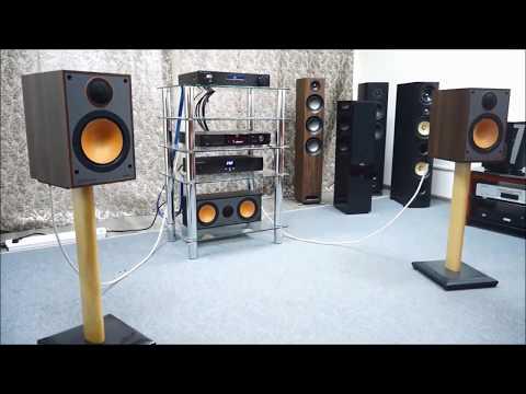 Monitor 100 (полочная акустика от Monitor Audio) - полное растворение в картине звука