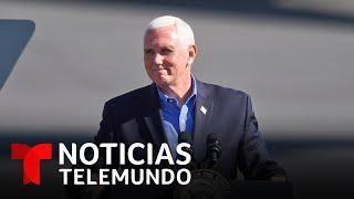 El COVID-19 ataca al equipo del vicepresidente Mike Pence | Noticias Telemundo