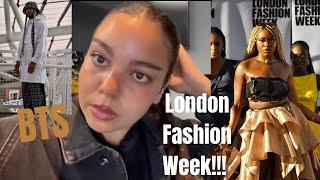 LONDON FASHION WEEK 2021  BTS   WATCH THE SHOW!