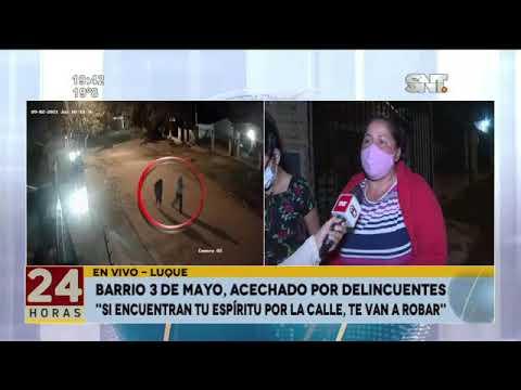 Barrio 3 de Mayo de Luque, acechado por delincuentes