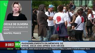 Affaire Steve Maia Caniço : «Un procès dans 3,4 ans, pas avant», selon l'avocate de la famille