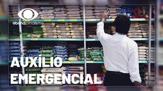 Auxílio emergencial paga comida, contas e remédios