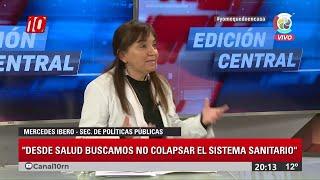 #Noticias10   La Dra Mercedes Ibero en EDICIÓN CENTRAL