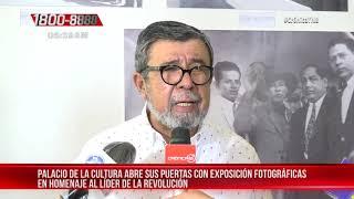 Palacio de la Cultura realiza homenaje al 125 aniversario del natalicio de Sandino - Nicaragua