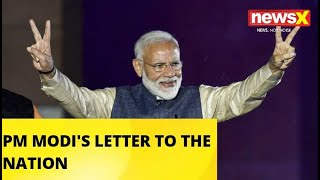 PM MODI'S LETTER TO THE NATION |NewsX - NEWSXLIVE