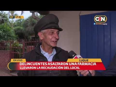 La inseguridad de cada día: Delincuentes asaltaron en Luque y Areguá
