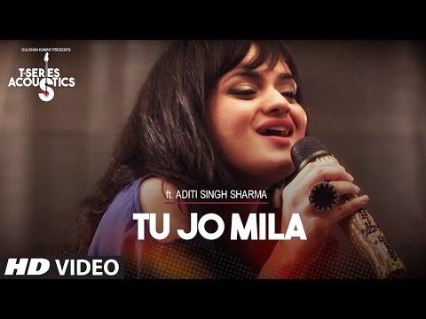 Tu Jo Mila Lyrics - Aditi Singh Sharma   T-Series Acoustics