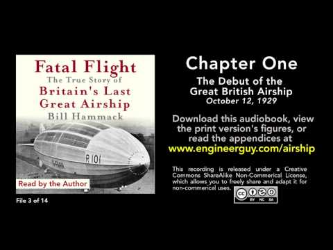 connectYoutube - Fatal Flight audiobook: Chapter One: The Debut of the Great British Airship (3/14)