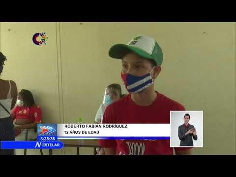 Inicia administración de primera dosis de Soberana 02 a más jóvenes en extremo occidental de Cuba