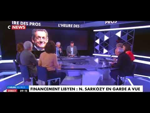 URGENT.Sarkozy en Garde a Vue.Trop tard , la lybie est déja detruite . Laissez nous ça