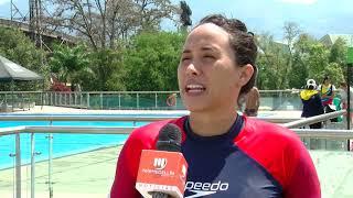 Selección Colombia de natación artística se prepara en Medellín - Telemedellín