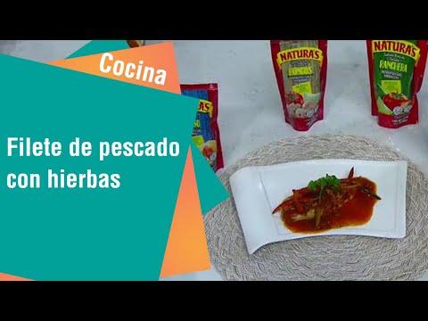 Receta de Secretos de Cocina de Unilever: Filete de pescado con hierbas