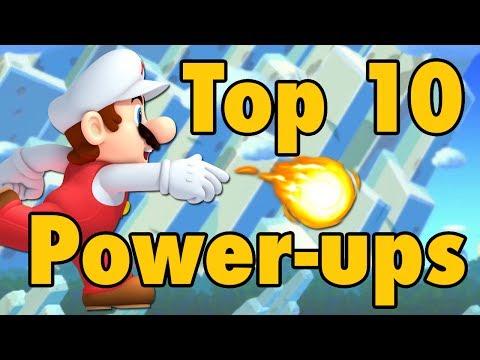 connectYoutube - Top 10 Super Mario Power-Ups