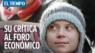 Greta Thunberg dice que reivindicaciones clima?ticas fueron