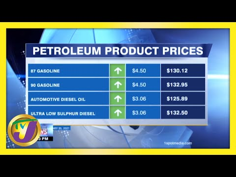 Gas Prices up for 12 Consecutive Weeks | TVJ Business Day - February 24 2021