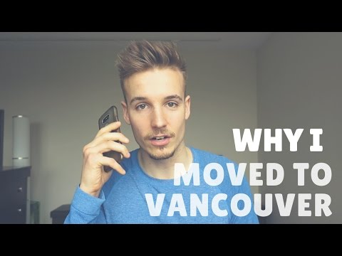 How I moved to Vancouver   The phone call that changed my lifestyle