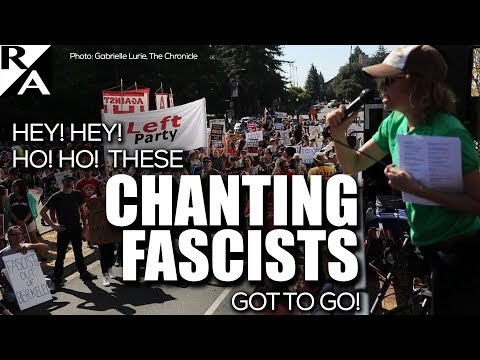 Right Angle - Hey! Hey! Ho! Ho! These Chanting Fascists Got To Go! - 09/02/17