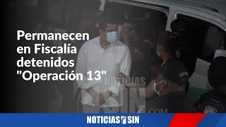 """EN VIVO 13/6/2021 Desde la Fiscalía caso """"Operación 13"""