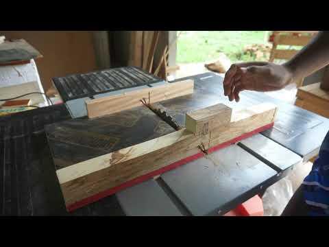แนะนำการทำถาดช่วยตัดไม้กับโต๊ะ