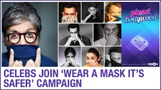 Alia Bhatt, Salman Khan, Shah Rukh Khan & others come together for Wear a mask it's safer campaign - ZOOMDEKHO