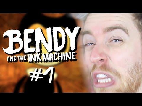 O QUE FIZERAM COM MINHA DISNEY? | Bendy & The Ink Machine #1