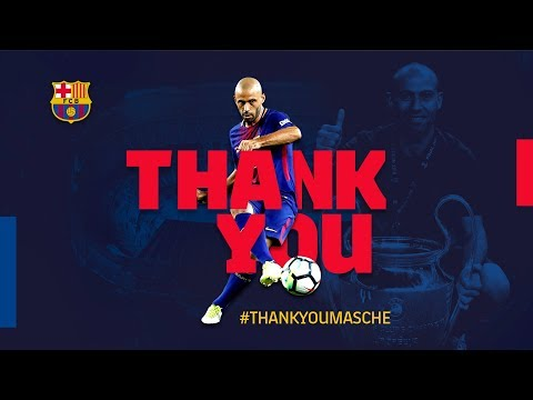 Javier Mascherano's greatest Barça moments