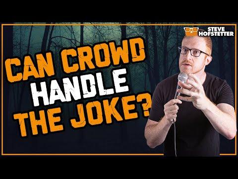 connectYoutube - Comedian gets dark - Steve Hofstetter