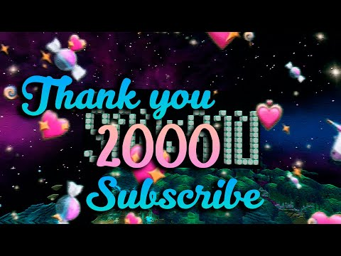 Thank-you-2000-Subscribe-|-รัก