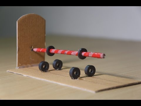 Amazing Science Experiment with magnet - anti gravity magnetic