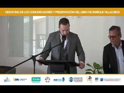 Desayuno de los comunicadores y presentación del libero de Enrique Villalobos - Semana 2021