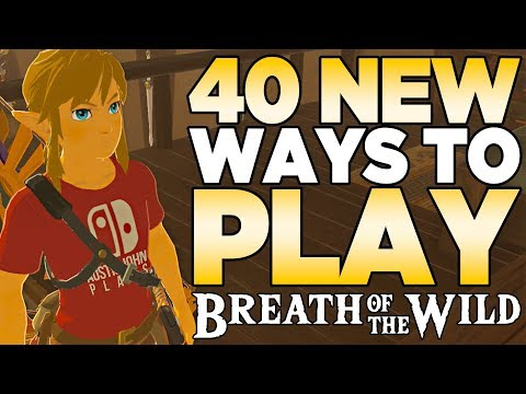 connectYoutube - 40 NEW Ways to Play The Legend of Zelda: Breath of the Wild | Austin John Plays