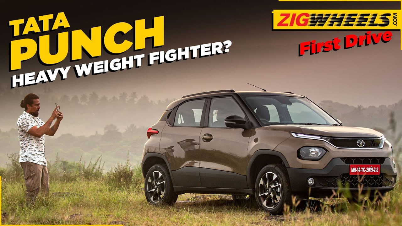 Tata's Punch First Drive Review | Here to knock out hatchbacks?