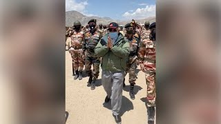 PM in strong message to China lands in Leh, visits forward location - IANSINDIA