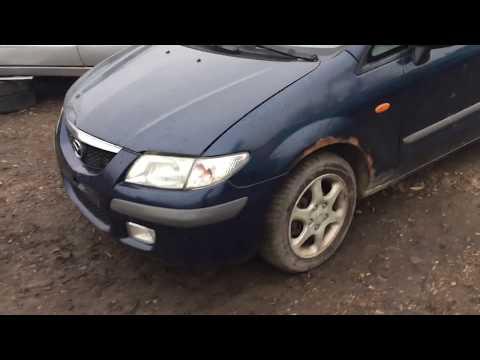 Mazda Premacy 1999 m dalys