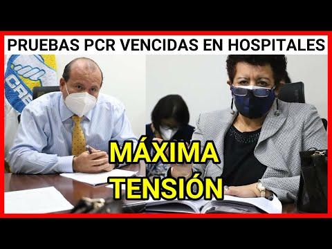 Urgente Guatemala hallazgos perturbadores pruebas PCR vencidas encontradas en Hospital de Escuintla