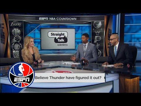 David Fizdale: Thunder's defense is key to beating Warriors | NBA Countdown | ESPN