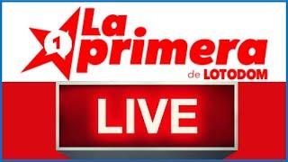 Lotería La Primera de LOTODOM Resultados de hoy en vivo