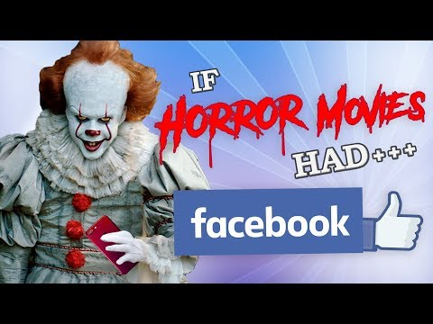 connectYoutube - IF HORROR MOVIES HAD FACEBOOK