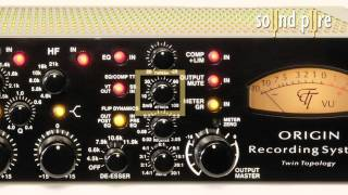 Millennia's STT-1 Origin Channel Strip Overiew Demonstration