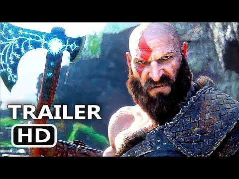 connectYoutube - GOD OF WAR 4 Official Final Trailer (2018) Action Game HD